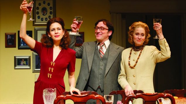 """Jessica Hecht , Jeremy Shamos, and Judith Light star in Richard Greenberg's """"The Assembled Parties."""""""