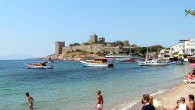 A beach in Bodrum, Turkey. (photo credit: CC BY-SA yilmaz ovunc, Flickr)
