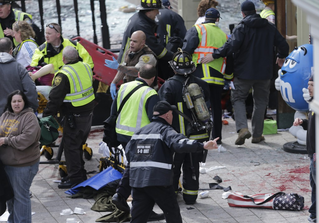 Boston Marathon bombings remembered in somber events