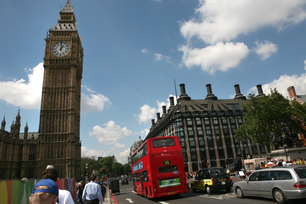 Illustrative: Big Ben and the Houses of Parliament in London. (Yossi Zamir/Flash90)