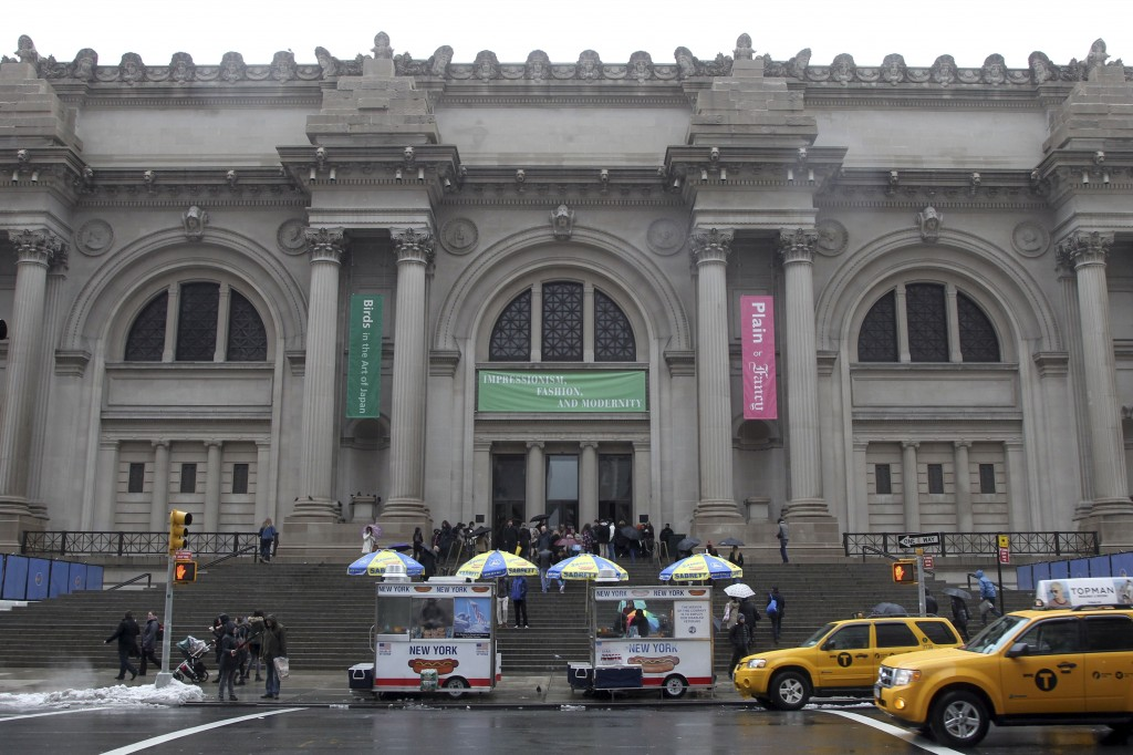 Lauder gifts 1 billion in art to nyc s met the times of for The metropolitan museum of art nyc