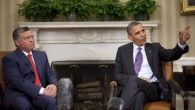 Jordan's King Abdullah II meets with President Barack Obama on Friday, April 26 at the White House (photo: AP /Pablo Martinez Monsivais)