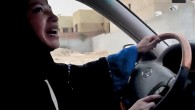 Saudi Arabian woman drives car as part of a campaign to defy Saudi Arabia&#039;s ban on women driving, Friday, June 17, 2011 (photo credit: AP Photo/Change.org, File)