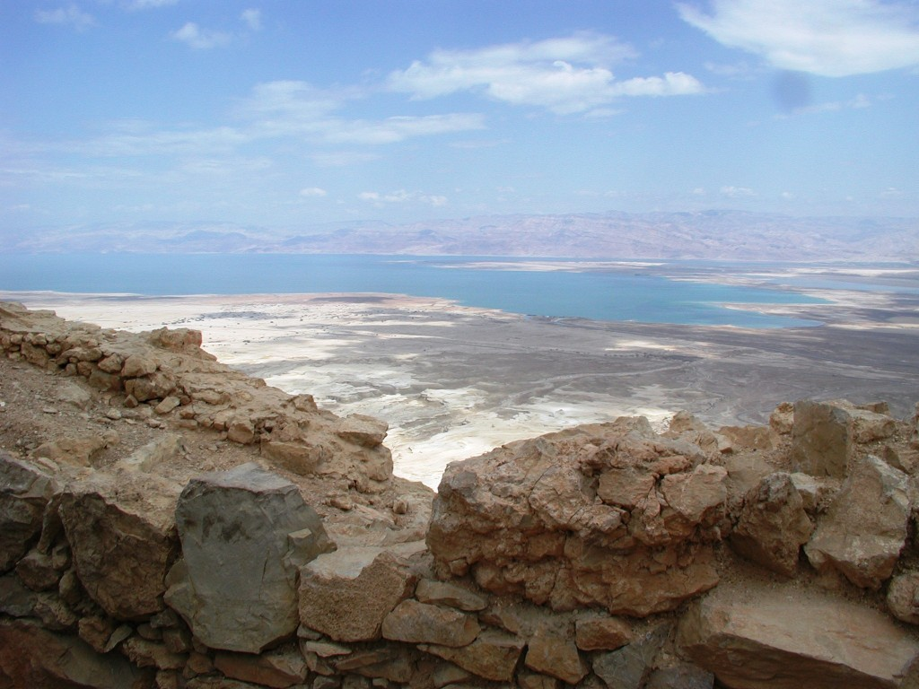 A view of the Dead Sea from Masada (Shmuel Bar-Am)