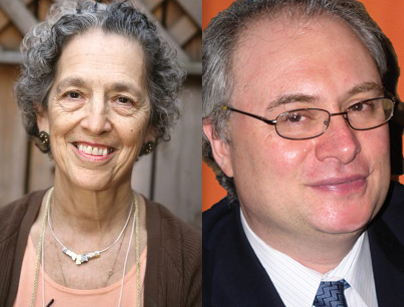 "Ruth Messinger (Left): ""An imperative to take action."" Rabbi Alfredo Borowitz (Right)"