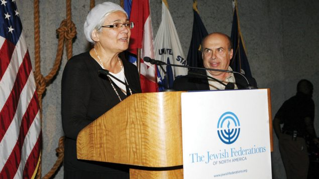 Avital Sharansky, left, with her husband Natan, campaigned around the world for his release from a Soviet prison.