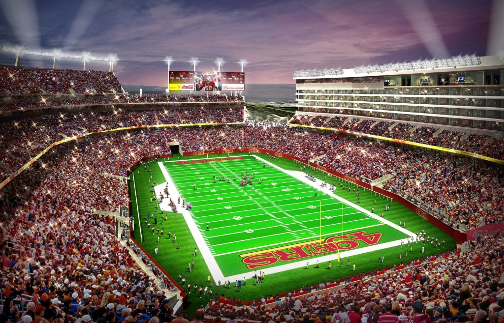 49ers Reach Stadium Naming Rights Deal With Levi S The