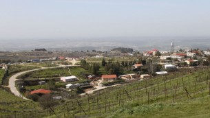View of the West Bank settlement of Bat Ayin (photo credit: Gershon Elinson/Flash90)