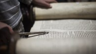 Illustration: Reading from a Torah scroll (photo credit: Yonatan Sindel/Flash90)