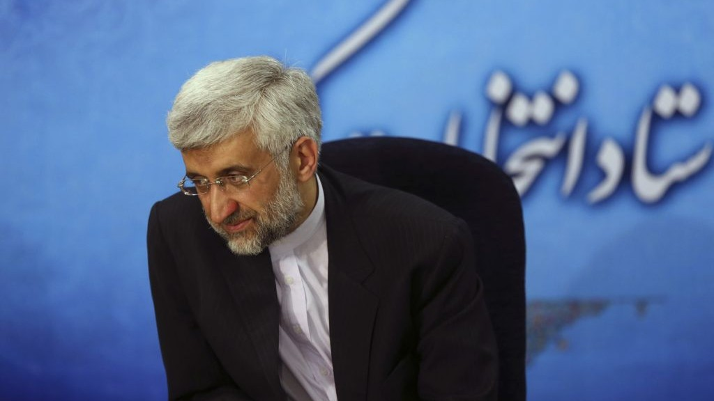 Iran's top nuclear negotiator Saeed Jalili (photo credit: AP Photo/Ebrahim Noroozi)