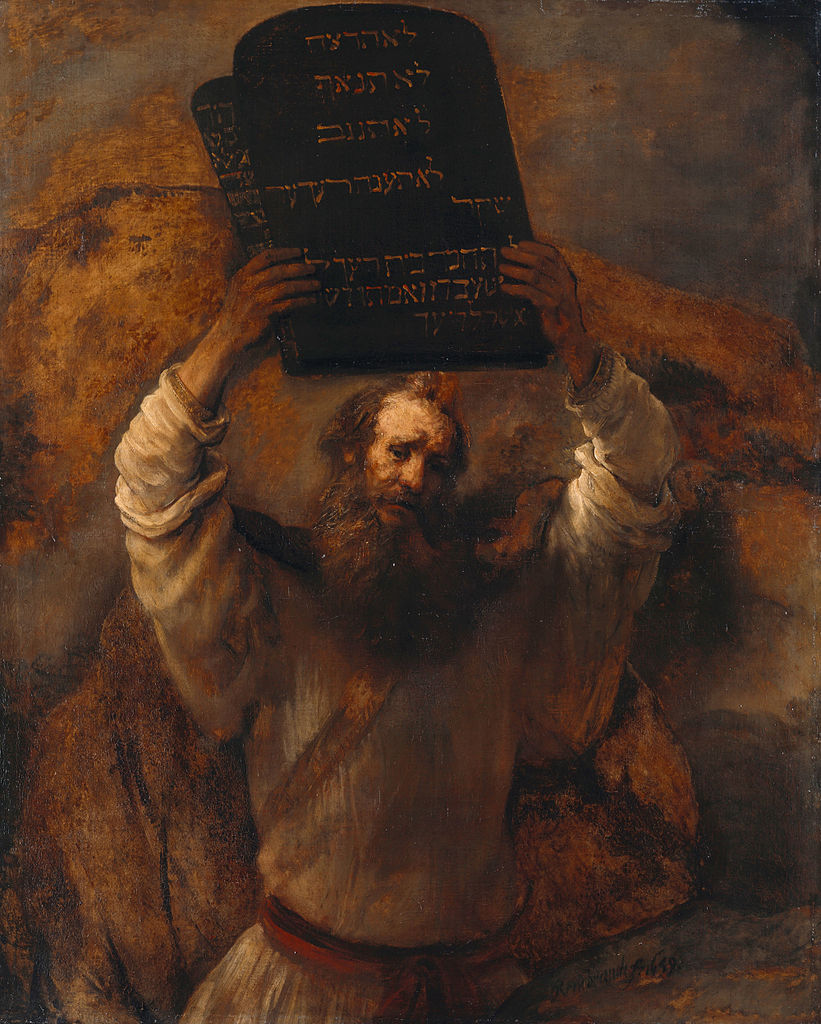 Michelangelo was right about tablets | The Times of Israel Moses Painting