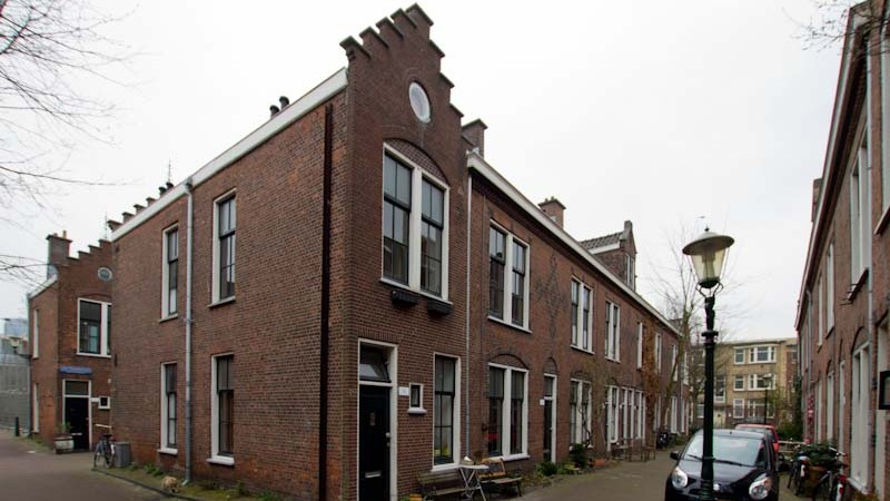 The Van Ostade Jewish Housing Project in The Hague, 2011. (photo credit: Harry van Reeken/JTA)