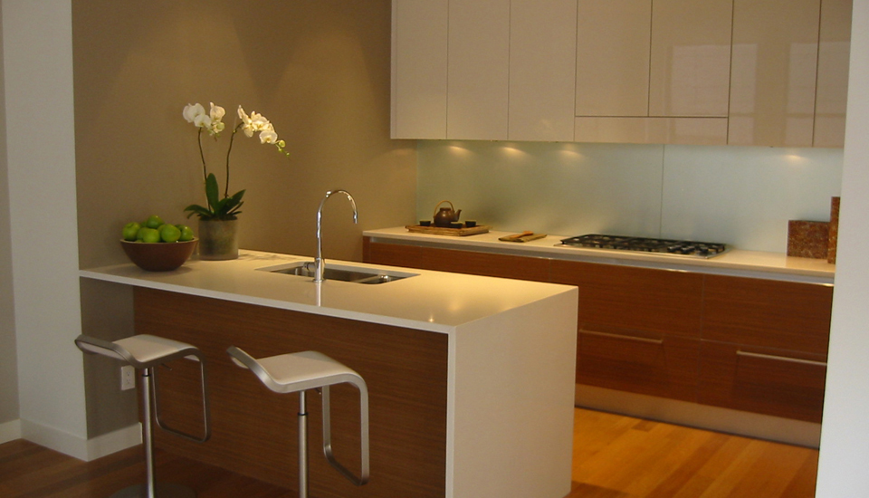 Kitchen counters covered in Caesarstone (Photo: Courtesy Caesarstone)