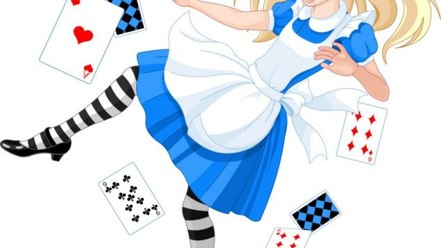 The author loves Wonderland and sometimes feels she's living in it. Fotolia
