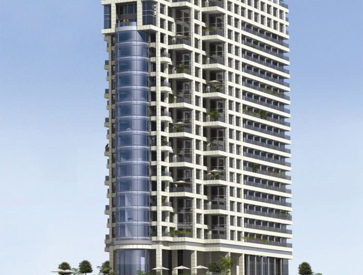 A rendering of the Royal Beach Tel Aviv.