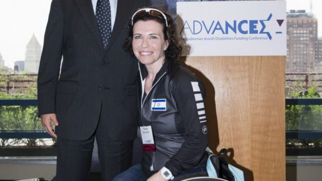 Jay Ruderman and Pascale Bercovitch. Photo courtesy The Ruderman Foundation