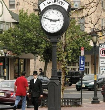About 40,000 fervently Orthodox Jews live in Lakewood.