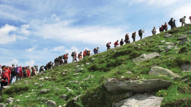 An annual Austrian hike publicizes the plight of refugees past and present.