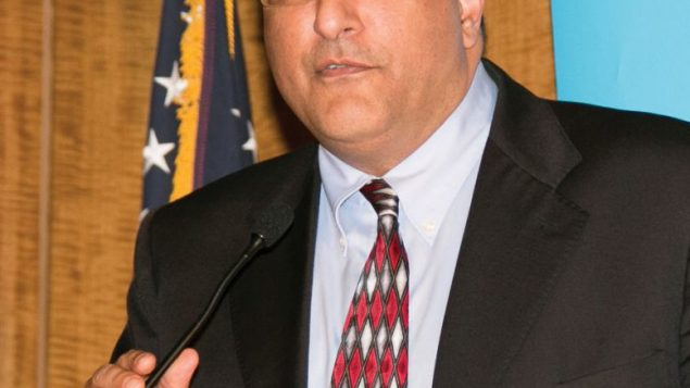 Israeli Consul General Ido Aharoni addresses leaders and friends of the Westchester County region. Susan Woog Wagner