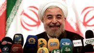The election of Hassan Rowhani, a moderate, as president of Iran.