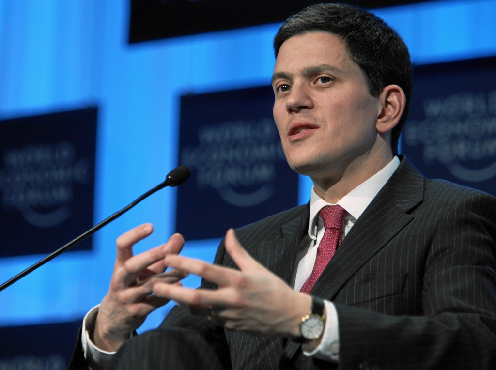 "David Miliband branded the Government's decision a ""shabby cop-out""."