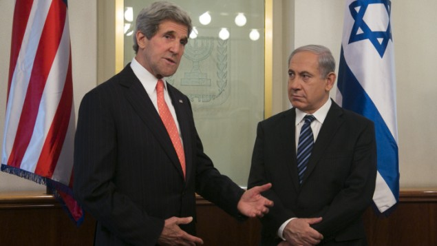 US Secretary of State John Kerry meets with Prime Minister Benjamin Netanyahu in Jerusalem, in May. (photo credit: Marc Israel Sellem/Flash90)