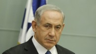 Benjamin Netanyahu at a Knesset meeting on Monday. (photo credit: Miriam Alster/Flash90)