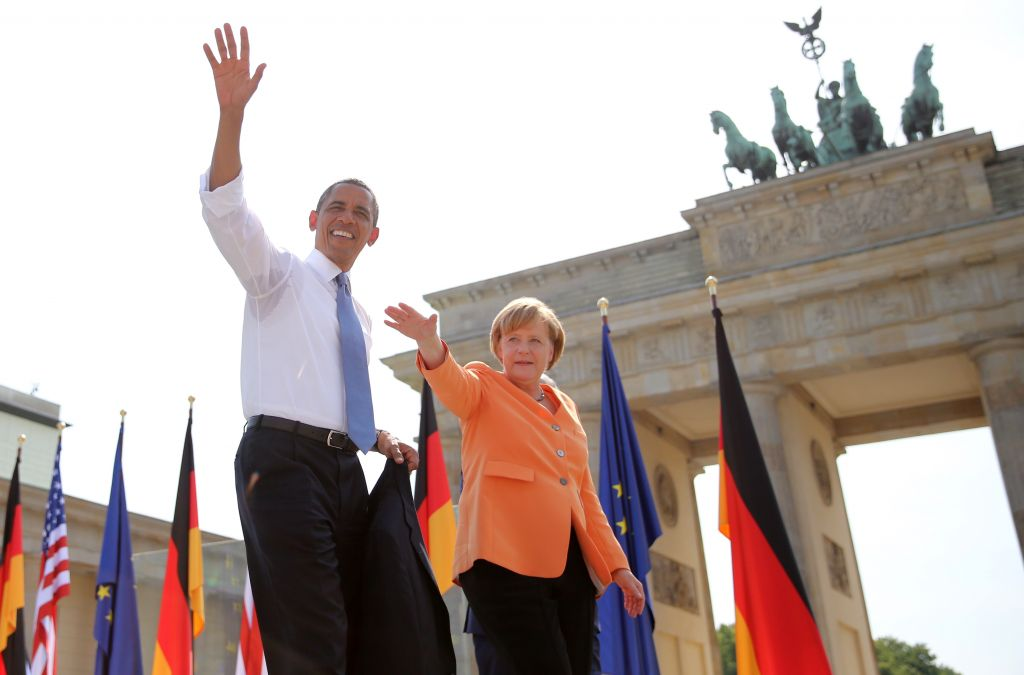 Αποτέλεσμα εικόνας για Barack Obama with Angela Merkel instagram dinner