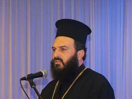 Father Gabriel Naddaf (photo credit: Facebook image)
