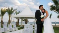 Every year, 20,000 Israeli couples marry abroad, many of them in Cyprus. Photo courtesy the Golden Bay Hotel, Larnaca, Cyprus
