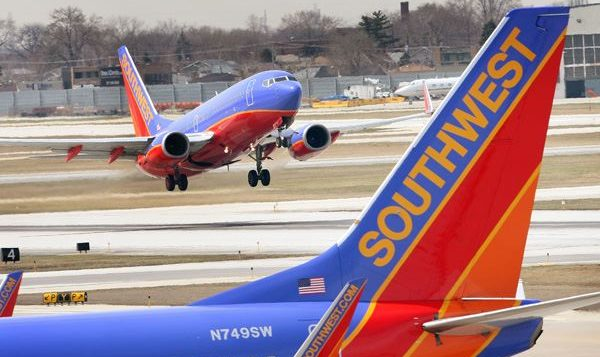 Buh-bye: Southwest Airlines gave Jewish students vouchers for future travel. Wikipedia Commons