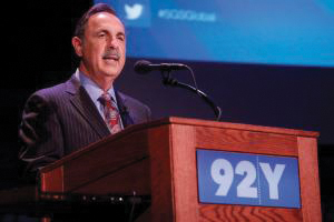 "Sol Adler: Loses 92nd Street Y leadership post for ""inappropriate behavior."""