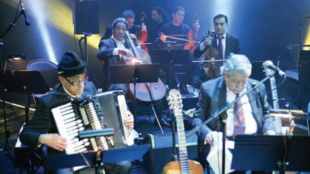 Algerian swing: A bulk of El Gusto's members are in their 80s and 90s. Yvan Manioski