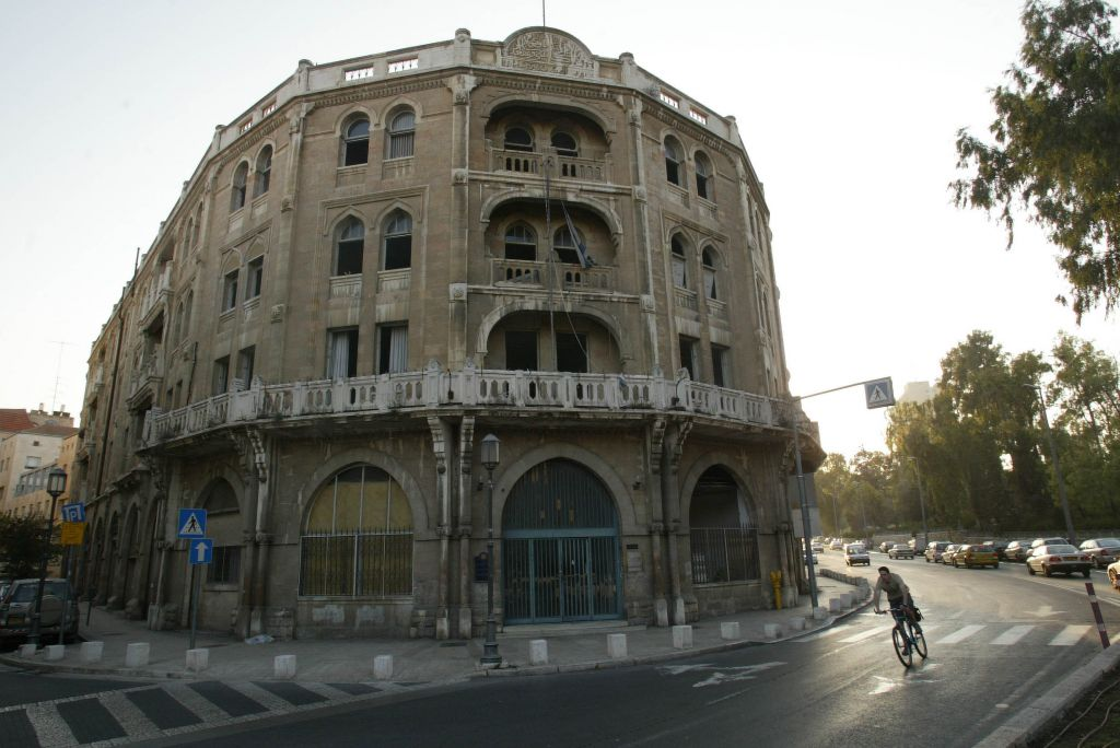 The Palace Hotel was built near the Mamilla neighborhood and later used as a museum and then government offices before being reconstructed by the Waldorf Astoria (photo credit: Yossi Zamir/Flash 90)