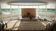 The interior of Temple Israel's new building in Omaha.  Photo courtesy Temple Israel