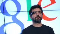 Google co-founder Sergey Brin, seen here sporting the company's latest invention, is a giver to a Jewish causes. Getty Images