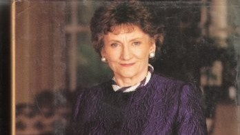"Elisabeth Maxwell (photo credit: Book cover, ""A Mind of My Own: My Life With Robert Maxwell"")"