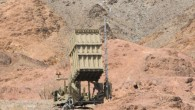 An Iron Dome battery deployed near Eilat, which came under fire last week. (photo credit: Flash90)