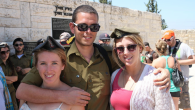 Some 350,000 college-age youths have participated in Birthright Israel. Photo via BirthrightIsrael.com
