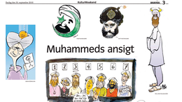 The controversial Mohammad cartoon, as first published in Jyllands-Posten, in September 2005 (photo credit: Wikimedia Fair Use Image)