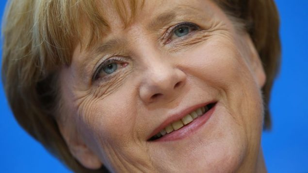 Angela Merkel won re-election as Germany's chancellor and an invitation to visit Britain's Jewish community. Getty Images