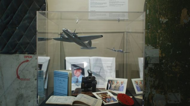 A display case in the new Alaska Jewish Museum and Cultural Center's show on the rescue of Yemenite Jews. Phil Barnett