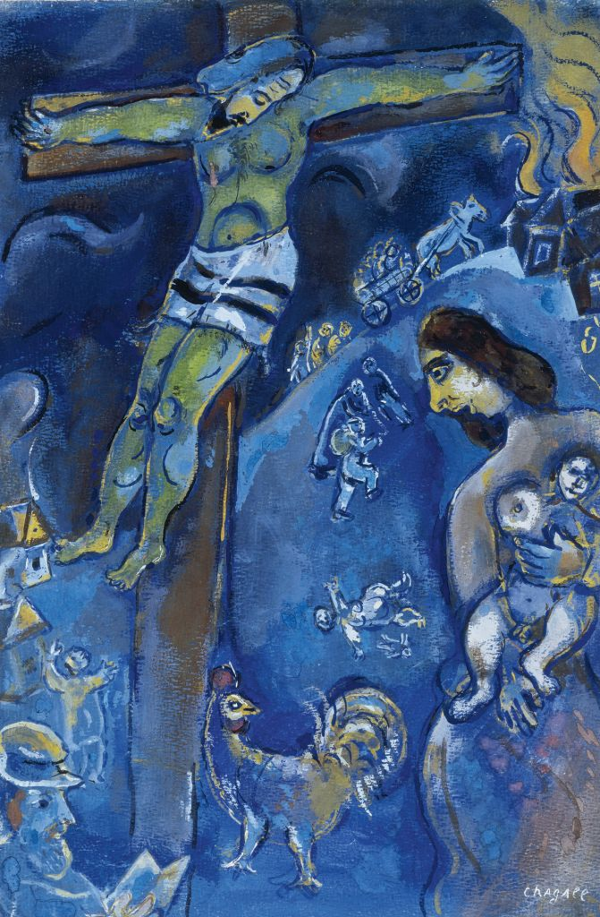 Chagall's Jesus: The great Jewish artist's controversial ... Marc Chagall Crucifixion