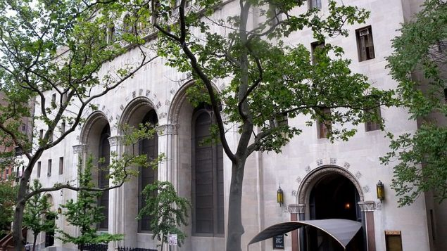 Congregation Rodeph Shalom on West 82nd Street in NYC. Wikimedia Commons