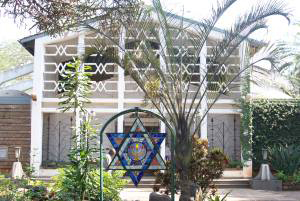 This Nairobi synagogue is the center of an eclectic Jewish community. Photo courtesy Rebecca Schischa