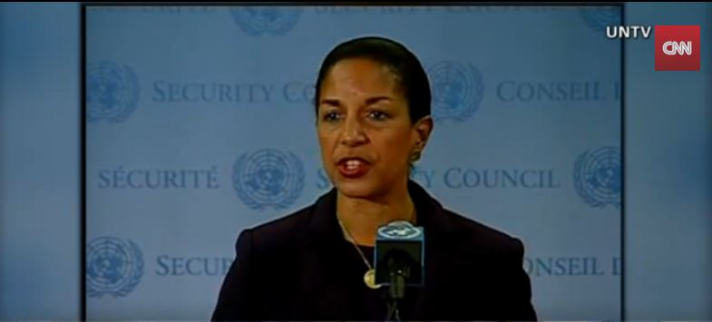US National Security Adviser Susan Rice (photo credit: Screen capture: YouTube/CNN)