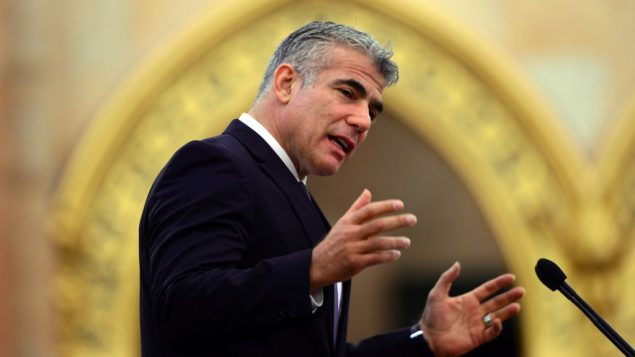 On a recent television appearance, Yair Lapid stated that Israel is not the refuge it was created to be. Getty Images