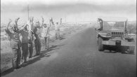 Arab soldiers surrender to Israelis during the '73 War. Getty Images