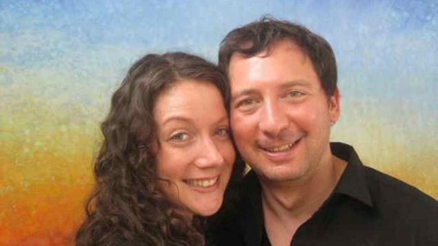 Dan and Katherine dated briefly and broke up, then reunited years later. Photo courtesy Katherine Eckstein