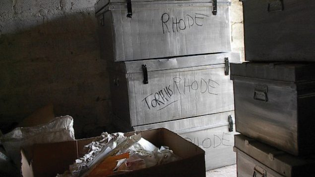 Jewish trove found in an Iraqi government building. Photo courtesy Harold Rhode